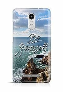 YuBingo Be Yourself Designer Mobile Case Back Cover for Xiaomi Redmi Note 3