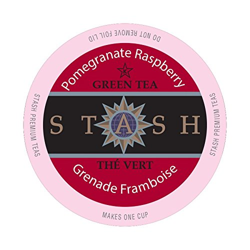 Stash Tea Pomegranate Raspberry Single-Cup Tea for Keurig K-Cup Brewers, 24 Count (Single Tea Brewer compare prices)