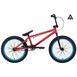 Amber Strut Matte Red BMX Bike