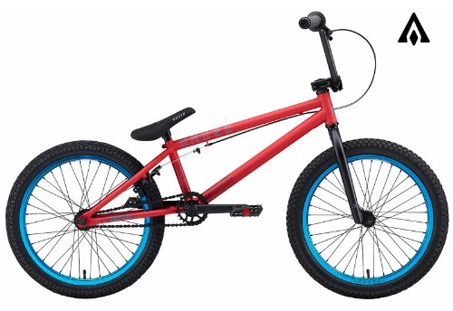 Amber Strut Matte Red BMX Bike