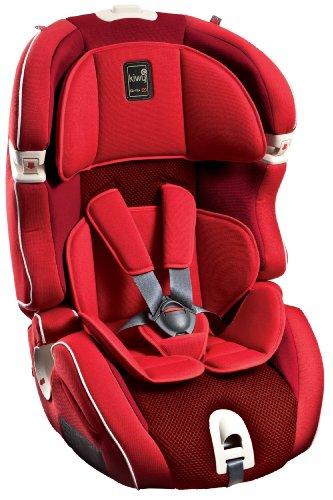 Kiwy 4CX41XL01KW - Rivestimento di ricambio per seggiolino auto SLF123 con Q-Fix, colore: Rosso ciliegia