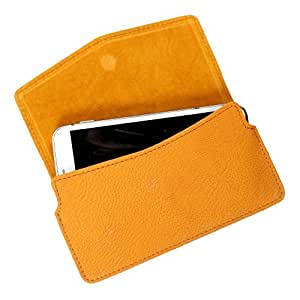 DooDa PU Leather Case Cover For Lava 3G 415