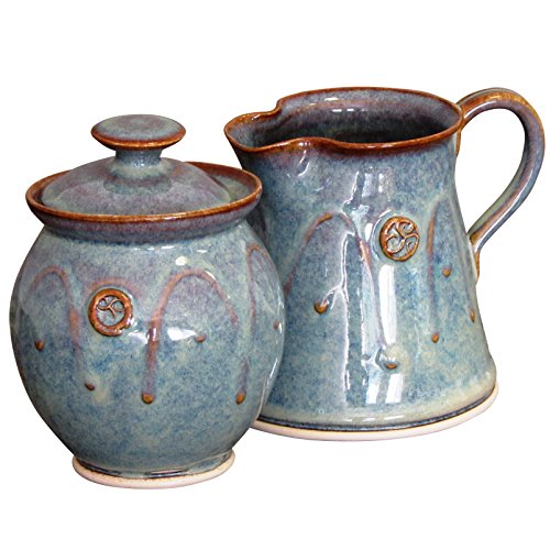 Handmade Irish Pottery Sugar and Creamer Set (Chefs Stoneware Canisters compare prices)