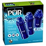 PUR Water Filter Cartridge Replacement (Pack of 3)