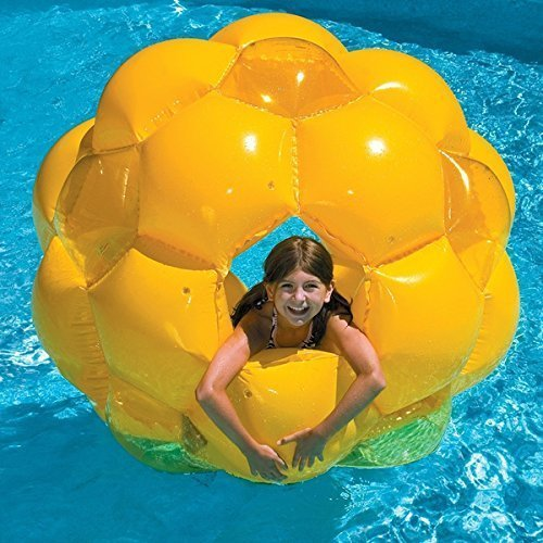 This Kids Bubble Pool Float Is Designed to Resemble a Bee Hive. This Water Raft Will Provide Endless Fun All Summer in the Swimming Pools. by SunSplash