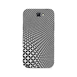 Ebby Diamong Illusion Premium Printed Case For Samsung Note 2