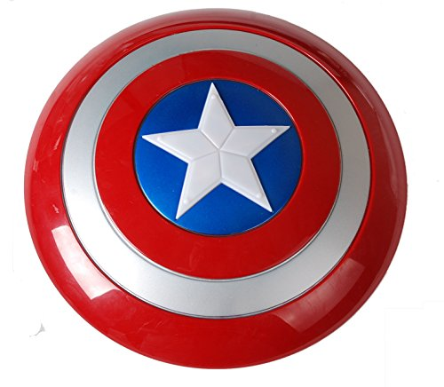 Captain America Shield with Flash Light Voice Kids Gift Party Cosplay Toy