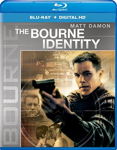 Blu-ray : The Bourne Identity (Ultraviolet Digital Copy, Snap Case, Digital Copy, Digitally Mastered in HD)