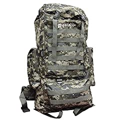 House Of Quirk 70 Liters Green Rucksack