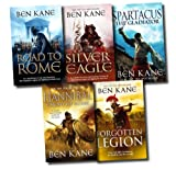 Ben Kane Ben Kane Series 5 Books Set Pack Collection Roman Legion (Hannibal Enemy of Rome, Spartacus The Gladiator, The Silver Eagle, The Forgotten Legion, The Road to Rome)