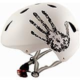 Sport en Direct TM cycliste vélo BMX/Skateboard Cycle casque blanc 56-58 cm