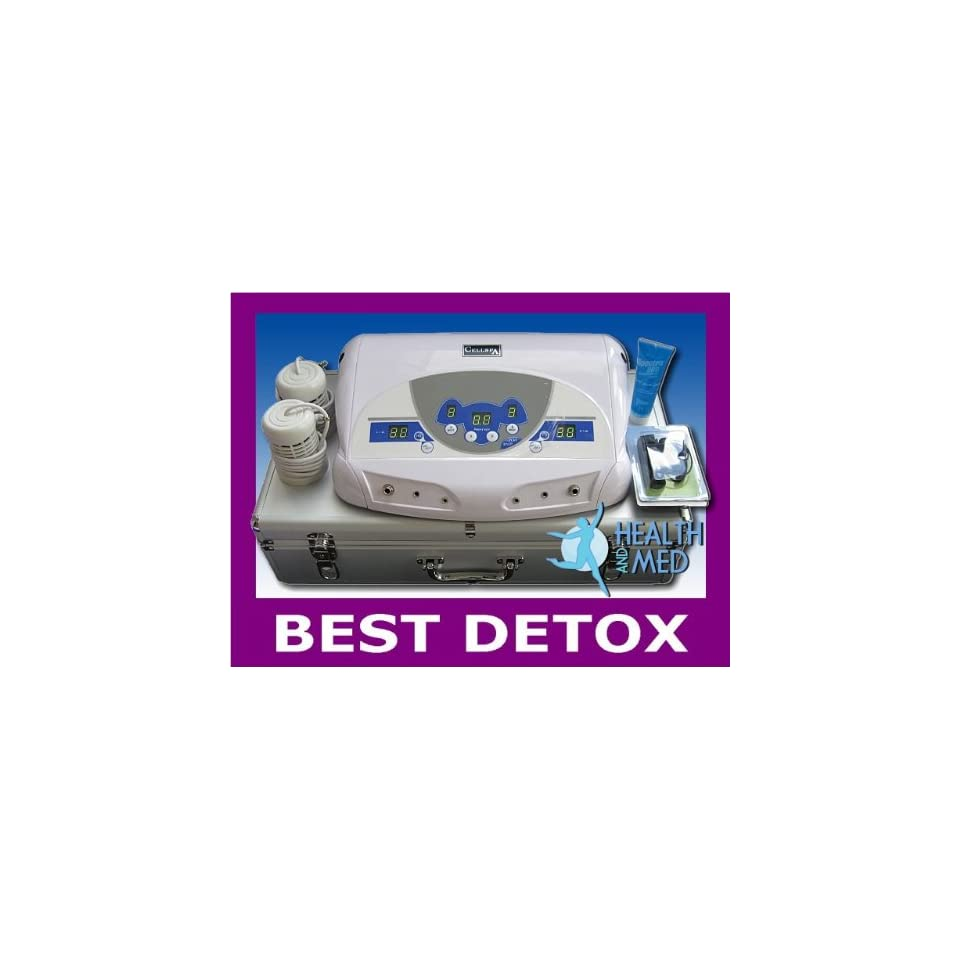 FB101CR Dual Ionic Detox Foot Bath System with  and Case REFURBISHED
