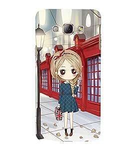 Vizagbeats Girl with HandBag Back Case Cover for Samsung Galaxy A8::Samsung A8 2015