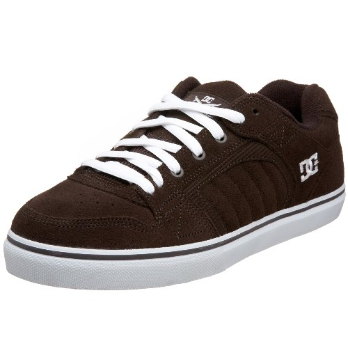 DC Men's Park WC S Sneaker,D.Chocolate/White,5 M