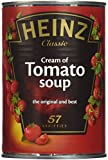 Heinz Classic Cream of Tomato Soup (4x400g) トマトスープのハインツ古典クリーム( 4X400G )