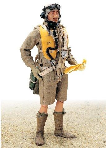 Buy Low Price Blue Box Elite Force: WWII Afrika RAF Flight Lieutenant Donald Moore 12″ Military Action Figure (B0006FUA90)
