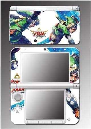Legend of Zelda Twilight Princess Link Video Game Vinyl Decal Cover Skin Protector 3 for Nintendo 3DS XL