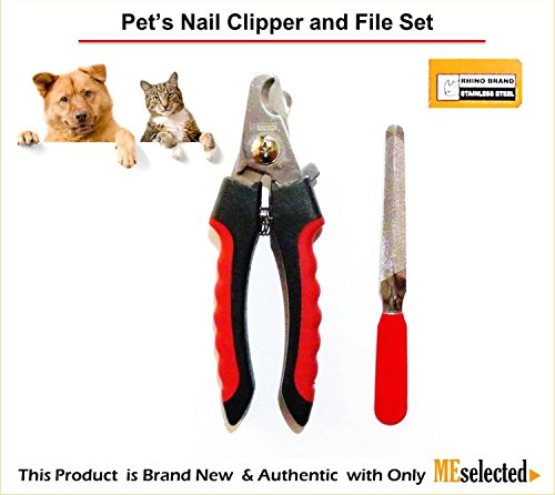 pets-nail-clipper-and-file-set-stainless-steel-professional-dog-cat-nail-trimmers-by-rhino-brand