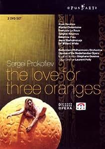 Prokofjew, Sergej - L'amour des 3 oranges [2 DVDs]
