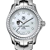 TAG HEUER watch:Lehigh University TAG Heuer Watch - Women's Link with Diamond Bezel at M.LaHart