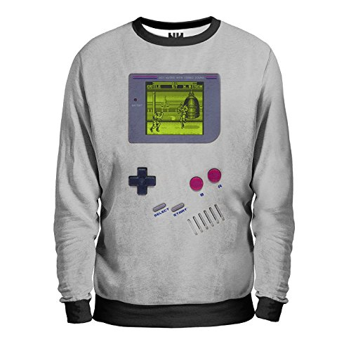 GAME BOY Sweatshirt Man - Felpa Uomo - Nintendo Retrogame, Gameboy Console Retrogame, Street Fighter T-Shirt