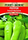 Ferry-Morse Seeds 1343 Pepper - Sweet Banana 700 Milligram Packet