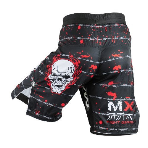 MAX Flex Pro Boxing Fight Shorts UFC MMA K1 Cage Fight Waist 30 -32-small