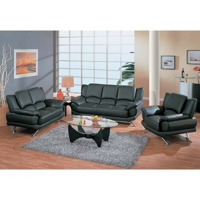 Rogers 3 pc. Leather Living Room Set