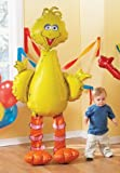 Big Bird Jumbo Airwalker Mylar Party Balloon