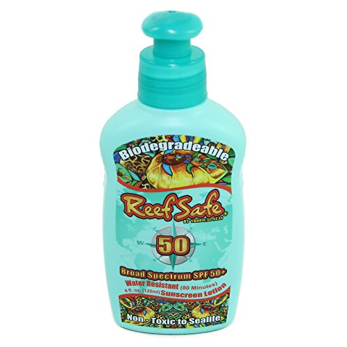 Reef Safe Biodegradable Waterproof SPF 50+ Sunscreen Lotion