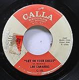 los canarios 45 RPM get on your knees / 3-2-1 Ah