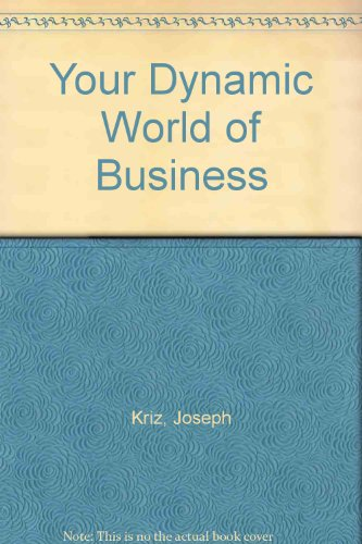 Your Dynamic World of Business PDF