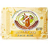 Tierra Mia Organics Raw Goat Milk Skin Therapy for Face and Body Soap Bar, 4.2 Ounce