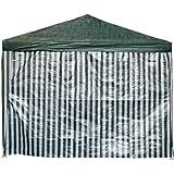 2 x Seitenteile ohne Fenster für Pavillion Pavillon Zelt Festzelt in Grün