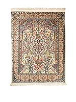 QURAMA Alfombra Kashmirian Marrón/Multicolor 180 x 124 cm
