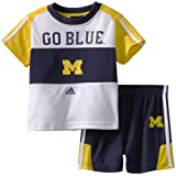 NCAA Michigan Wolverines Toddler Short Sleeve Tee and  Short Set