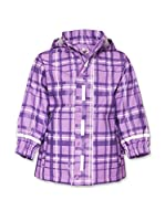 Playshoes Chaqueta Impermeable Check (Morado)