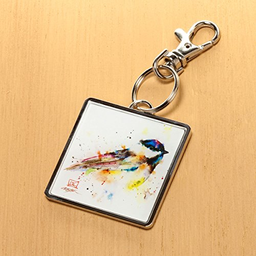 Home Accents Collection - Black Cap Chickadee Keychain (Black Cap Chickadee compare prices)