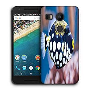 Snoogg Fish Animal Printed Protective Phone Back Case Cover For LG Google Nexus 5X