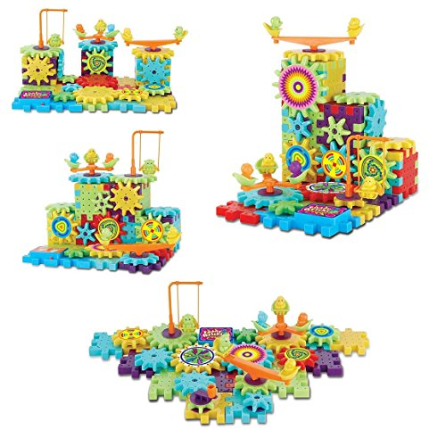 WonderPlay-Funny-Bricks-Building-Construction-Set-81-Piece-Kit-Colorful-Motorized-Spinning-Gears-Interlocking-Learning-Blocks-Fun-Entertaining-Educational-Great-Gift-for-Girls-Boys-3