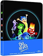 Del Revés (Inside Out) - Steelbook [Blu-ray]
