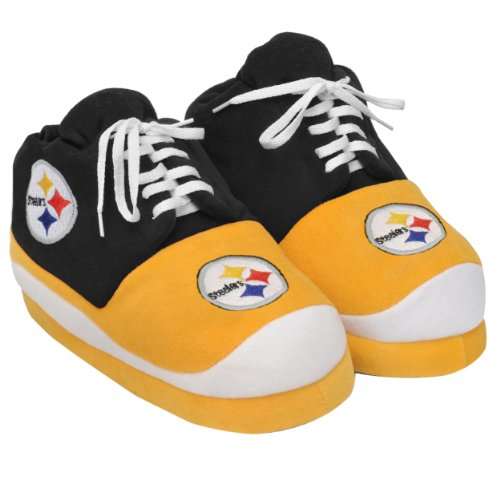 NFL Pittsburgh Steelers 2011 Men's Sneaker Slipper Extra Large at Amazon.com
