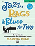 Jazz, Rags & Blues for Two. Book 3 --...
