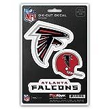 NFL Atlanta Falcons Team Decal, 3-Pack