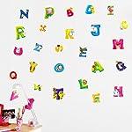 アルファベット ウォールステッカー 動物英語 wall sticker ウォールペーパー 壁紙 ウォールシール 44*64cm