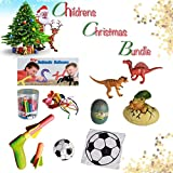 Boy / Boys / Child / Children / Kids - Christmas Stocking Filler Gift Pack for 3-5 Year Olds - Includes 4 Different Toys or Games - Traditional Stocking Filler / Xmas / Christmas Gift / Present Ideas Toys / Games Pack / Set of 4, Suitable From Age 3+