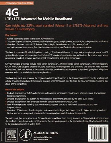 4G: LTE/LTE-Advanced for Mobile Broadband