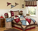 All Star Sports Childrens Bedding 3pc Full / Queen Set