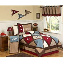 All Star Sports Childrens Bedding 3pc Full / Queen Set by Sweet Jojo Designs