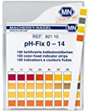 SEOH 0-14 pH indicator strips 100/box